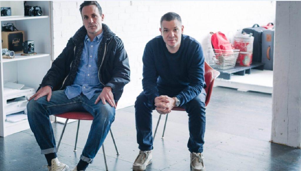 Les frères Lyndon et Jamie Cormack