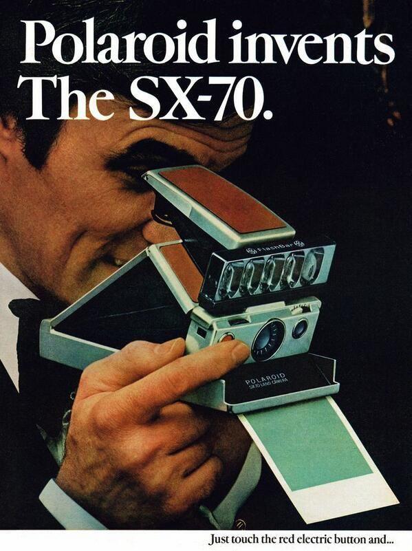 Ancienne publicité Polaroid