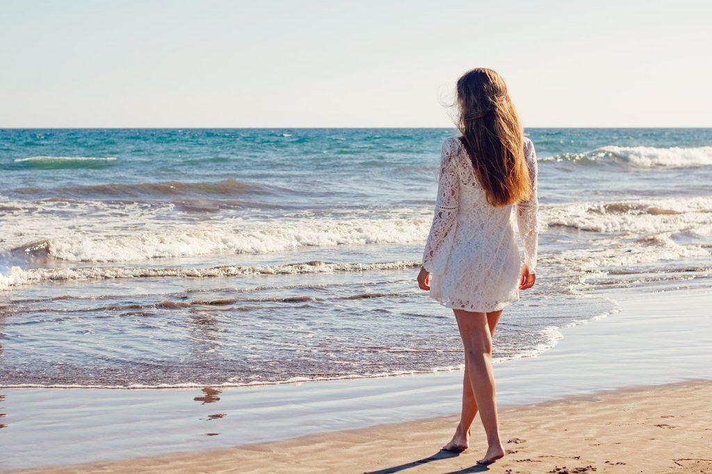 cheveux mer