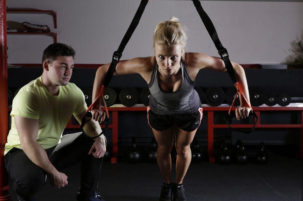 défi musculation en cours