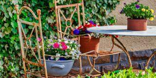 table jardin déco