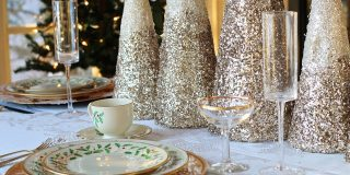 deco table de noel